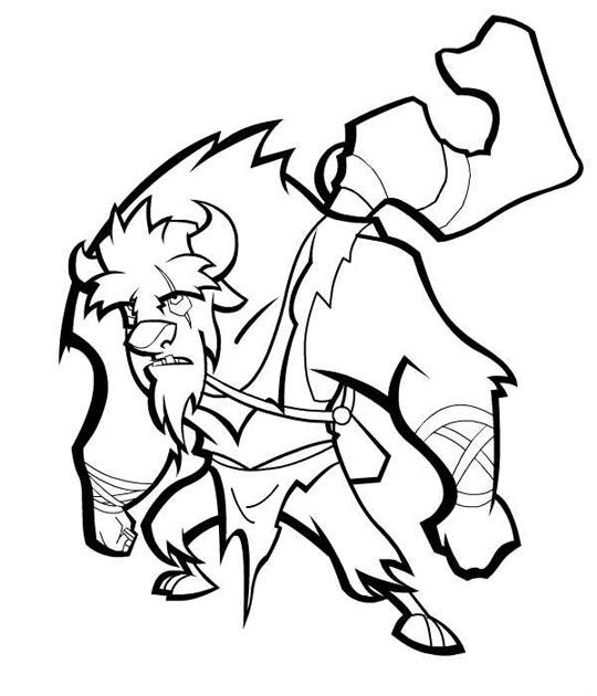Free Sly Cooper And The Coloring Pages Sly Cooper Coloring Pages